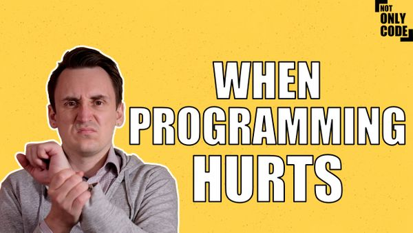 Programming injuries - fix your habits before it gets bad