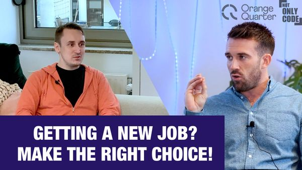 How to choose best job offer - interview with tech recruiter