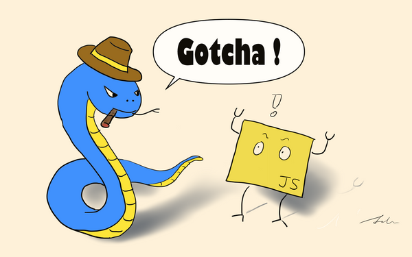 Python gotchas for JavaScript developers